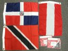 12x18 assorted poly flags with grommets