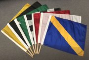 Auto Racing nylon flag set