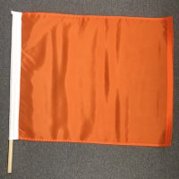 24x30 nylon orange mounted flags