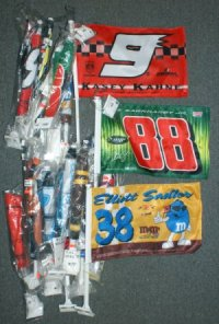 discontinued NASCAR flags