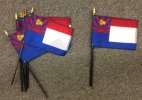 Karen People desk flags