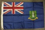 nylon 2x3' British Virgin Islands flag