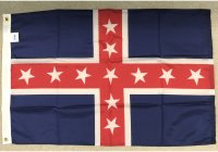 2x3' nylon Polk's Corps flag