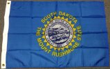 2x3' South Dakota Nylon flag