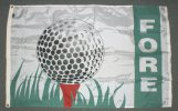3x5' Golf Fore nylon flag