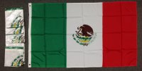lightweight nylon 3x5' Mexico flag