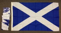 lightweight nylon 3x5' Scotland Cross flag