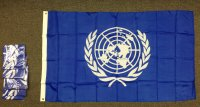 lightweight nylon 3x5' U.N. flag