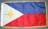 3x5' Philippines indoor flag