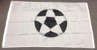 3x5' Soccer Ball flag