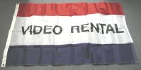 Video Rental flag