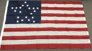 nylon 4x6' U.S. 20 great star flag