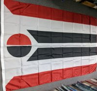 5x8' nylon Northern Arapaho flag