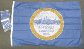 4x6' Nylon Boston flag