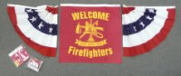 Welcome Firefighters Center with Half Fans