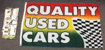 Quality Used Cars flag bundle