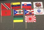12x18inch Stick Flag Bundle Number 1